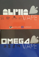Alpha And Omega Vape Premium E~Liquids (15ML 70VG/30PG 60VG/40PG)