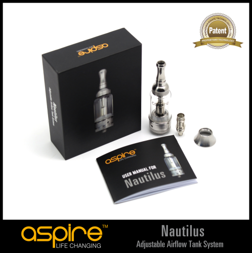 Aspire K1 Clearomizer Kit w/ Bottom Vertical Coils!