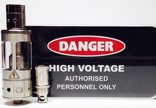 High Voltage Sub-Ohm Clearomizer Kit w/ AirFlow Control!
