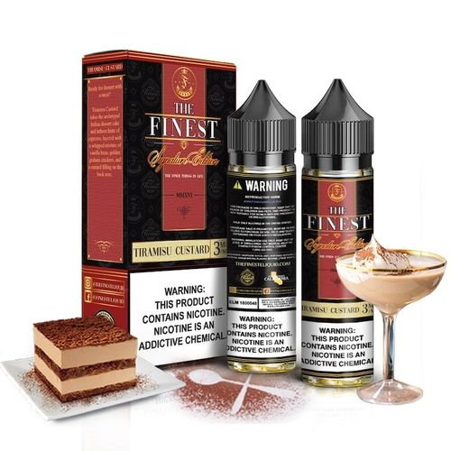 Tiramisu Custard By Finest E Liquid Co