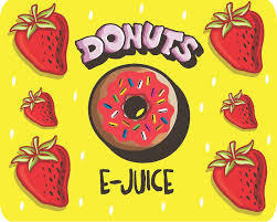 Donuts (Strawberry Doughnut in Milk) By D'ohnut E Liquid