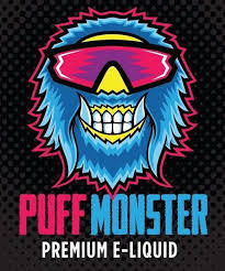 Monster Milk  (Caramel, Strawberry,Milkshake)  By Puff Monster E~Liquids