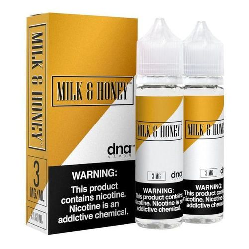 Milk & Honey By DNA Vapor Premium E~Liquids