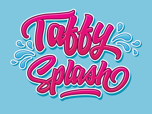 Taffy Splash Blue Raspberry (Blue Raspberry, Taffy) By Fast Eddies
