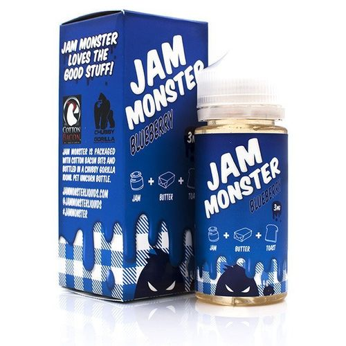 Blueberry Jam Monster 100ML By Jam Monster E Liquids