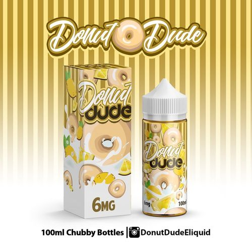 Donut Dude (Lemon Glazed Donut) ACK E Liquid