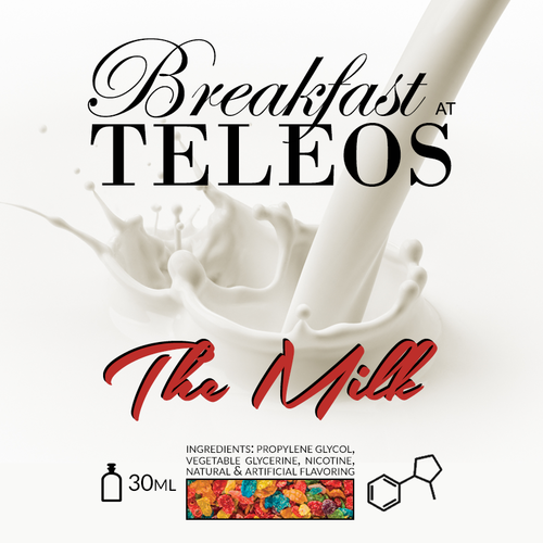 The Milk  (Fruity Pebbles in Milk) by Breakfast at Teleos E-Juice