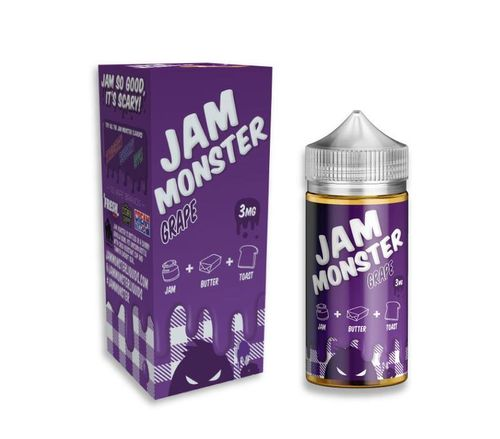 Grape Jam Monster 100ML By Jam Monster E Liquids