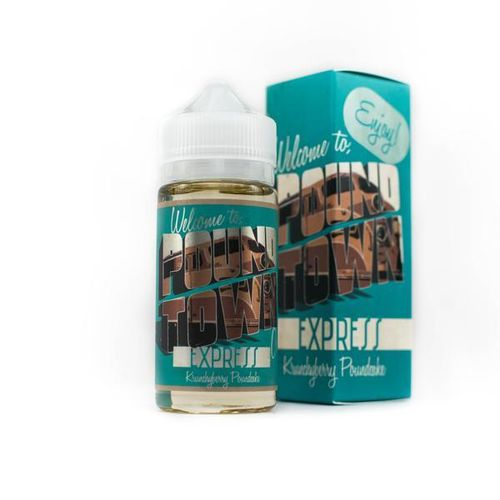 Express (Crunch Berry, Pound Cake)  Pound Town E Liquid