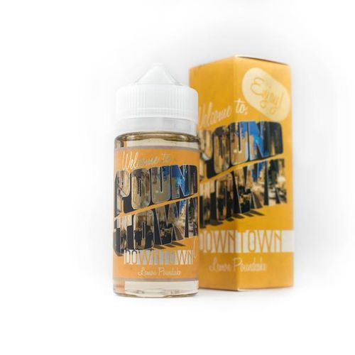 DownTown (Lemon, Pound Cake)  Pound Town E Liquid
