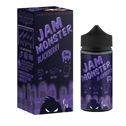 Blackberry Jam Monster 100ML By Jam Monster E Liquids