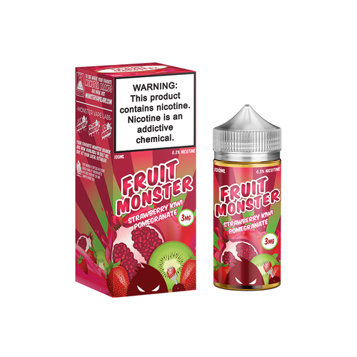 Strawberry Kiwi Pomegranate Fruit Monster 100ML By Fruit Monster E Liquids