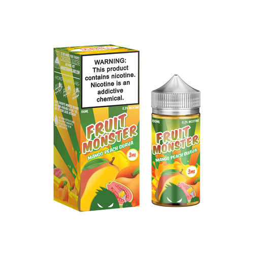 Mango Peach Guava Fruit Monster 100ML By Fruit Monster E Liquids